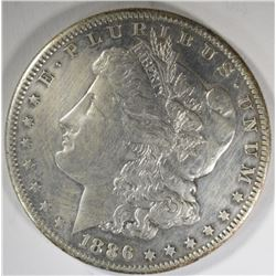 1886-S MORGAN DOLLAR  XF-AU