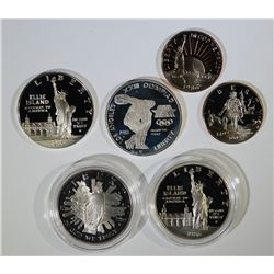 Group of Proof Commemorative Coins