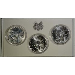 1983 Uncirculated Olympic Silver Dollar Set