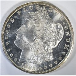 1885-CC MORGAN DOLLAR GEM BU+