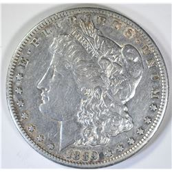 1889-S MORGAN DOLLAR  XF-AU