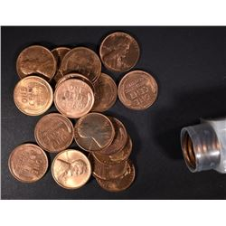 BU ROLL OF 1941-S LINCOLN CENTS