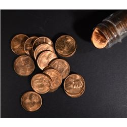 1952-S BU LINCOLN CENT ROLL