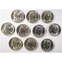 10-1944-P SILVER JEFFERSON NICKELS