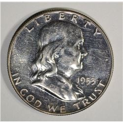 1953 FRANKLIN HALF DOLLAR, SCARCE!!!
