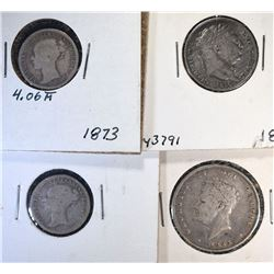 BRITISH SILVER COIN LOT: