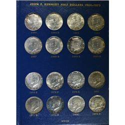 30 DIFFERENT KENNEDY HALVES 1964-78 IN ALBUM