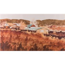 Walt Gonske, watercolor