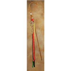 """Apache Girl's Puberty Ceremony Cane , 40"""" tall"""