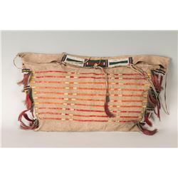 """Northern Plains Beaded Possible Bag, 23"""" x 12"""""""