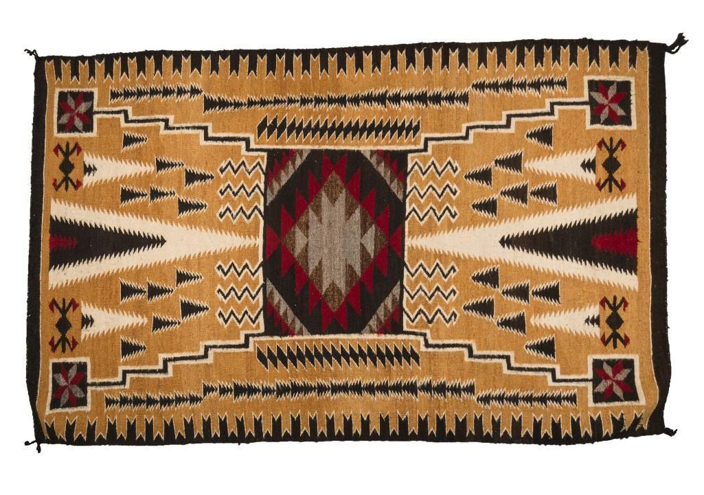 Navajo Rug 8 X 5 March In Montana