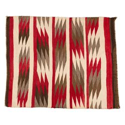 Two Navajo Saddle Blankets