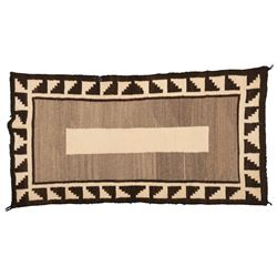 "Navajo Saddle Blanket, 2'7"" x 4'11"""