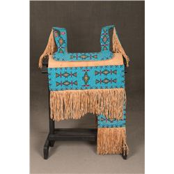 Cheyenne Beaded Saddle, Sash & Saddle Cover
