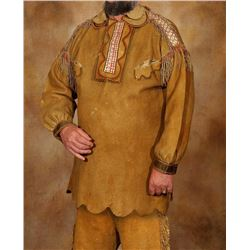 """Metis Quilled Man's Shirt and Trousers, 40"""" long"""