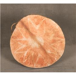 "Indian Hide Drum, 28"" diameter"
