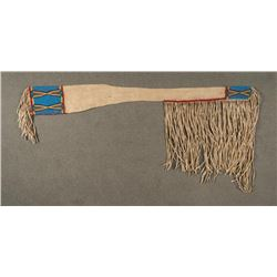 "Sioux Style Beaded Scabbard, 48"" long"