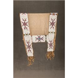 Santee Sioux Beaded Saddle Blanket
