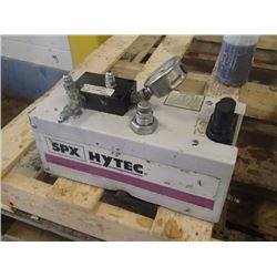 SPX Hytec Air/Hydraulic Pump, No. 9614 Manifold