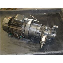 Rexroth Vane Pump with Leroy-Somer Motor