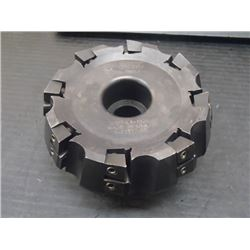 "Valenite 4"" Indexable Face Mill, P/N: G107-LA-1328"
