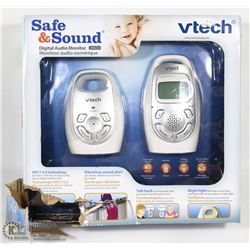 NEW VTECH SAFE AND SOUND DIGITAL AUDIO MONITOR