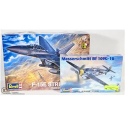 SET OF 2 REVELL AIRPLANE