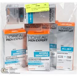 LOT OF 6 LOREAL MEN EXPERT FACE CARE ALL IN ONE