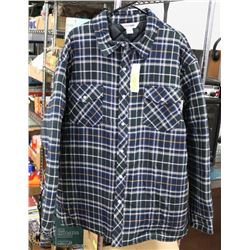 NEW WORK KING FLANNEL INSULATED JACKET SIZE 2XL