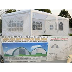 FEATURED 30FT X 40FT STORAGE BUILDING AND