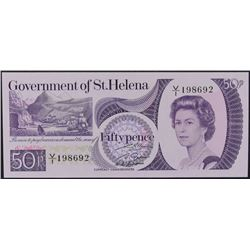1979 Fifty Pence St. Helena Note