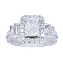 14KT White Gold 2.00ctw Neal Lane Diamond Ring