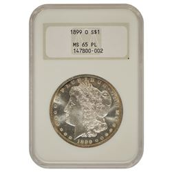 1899-O $1 Morgan Silver Dollar Coin NGC MS65PL