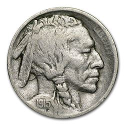 1915-S Buffalo Nickel Coin