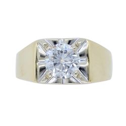 14KT Yellow Gold 1.23ct Diamond Ring