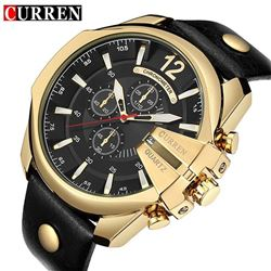 Curren Men39s Sports Quartz Watch Men Top Brand Luxury Designer Watch Man
