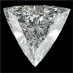 4ct Trillion Cut BIANCO Diamond