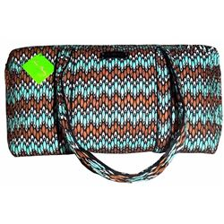 Nwt Vera Bradley Sierra Stream Women's Designer Duffel Overnight Travel Bag! Vnk34 One 18.5 Inches L