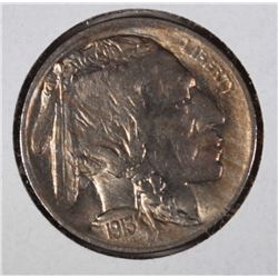 1913 TY1 BUFFALO NICKEL GEM BU