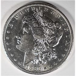 1886-S MORGAN DOLLAR  AU/UNC