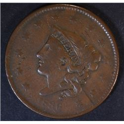 1836 LARGE CENT  VF