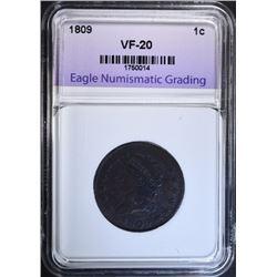1828 LARGE CENT, LVCS XF/AU