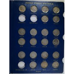 BUFFALO NICKEL SET