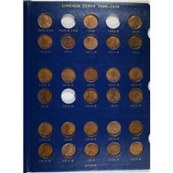 PARTIAL LINCOLN CENT SET