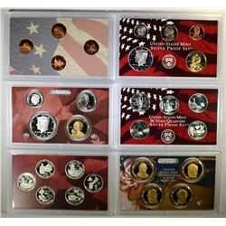 2003 & 2009 U.S. SILVER PROOF SETS  BOX/COA