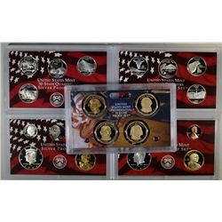 2006 & 2007 U.S. SILVER PROOF SETS  BOX/COA