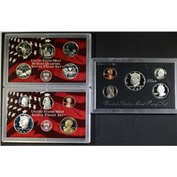 1994 & 2003 U.S. SILVER PROOF SETS  BOX/COA