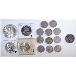 BAG LOT: 1994 GEM BU SILVER EAGLE,