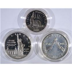 2- COMMEMORATIVE SETS, 1988 OLYMPIC SILVER PROOF $