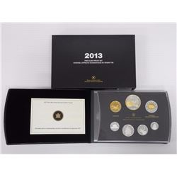 2013 RCM Proof Coin Set 1st Year No Penny.
